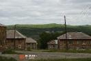 Перекресток ул. Новоя-Чехова, вид на Водно-шламовое хозяйство Качканарского горнообогатительного комбината (Качканар)