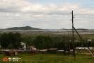 Вид на Водно-шламовое хозяйство Качканарского горнообогатительного комбината (Качканар)