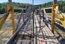 Мост с турникетами, Североуральск