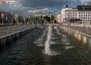 Набережная с «поющими» фонтанами (Казань)
